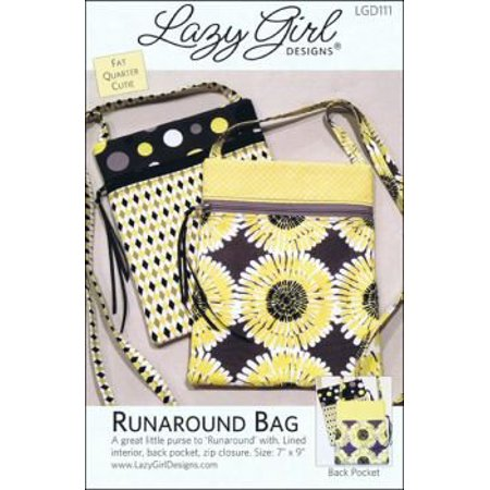 Girls Pinafore Pattern - Lazy Girl Designs Runaround Bag Pattern