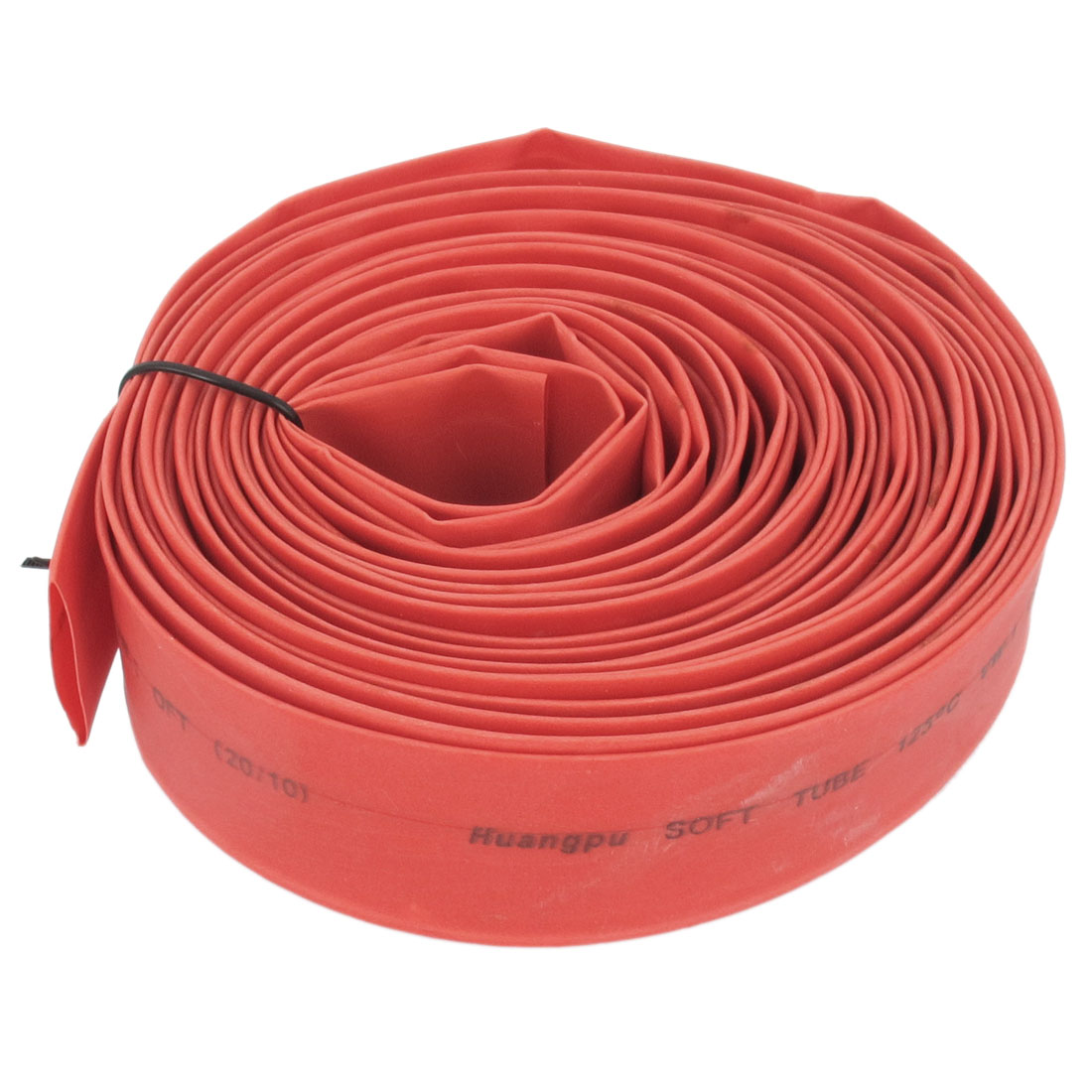Unique Bargains 8m Long 20mm Dia Polyolefin Heat Shrinkable Tube Shrink Red