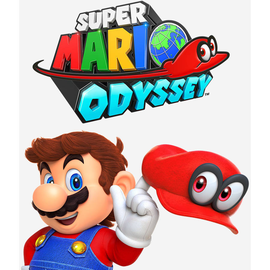 Super Mario Odyssey video game (Nintendo Switch)
