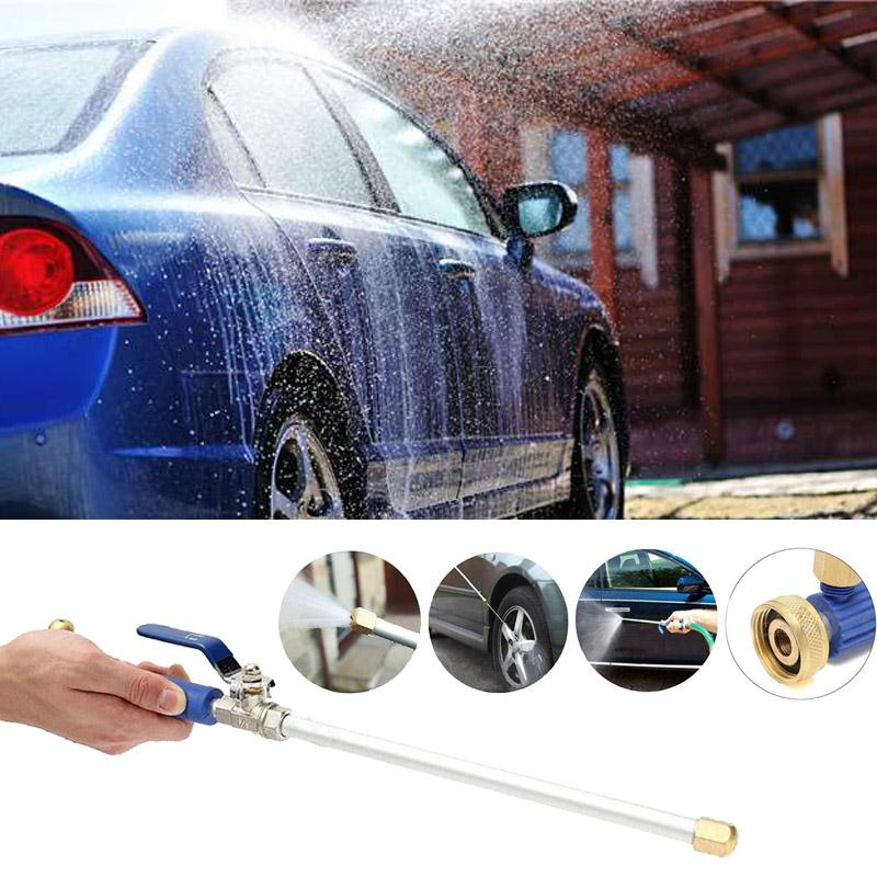 High Pressure Power Washer Spray Jet Gun with Copper Nozzle Water Hose Wand