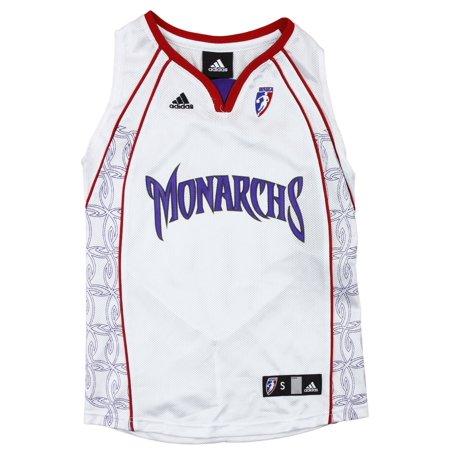 Adidas WNBA Youth Girls Sacramento Monarchs Replica Jersey, White