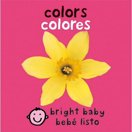 Bright Babybebe listo ColorsColores (Board Book)