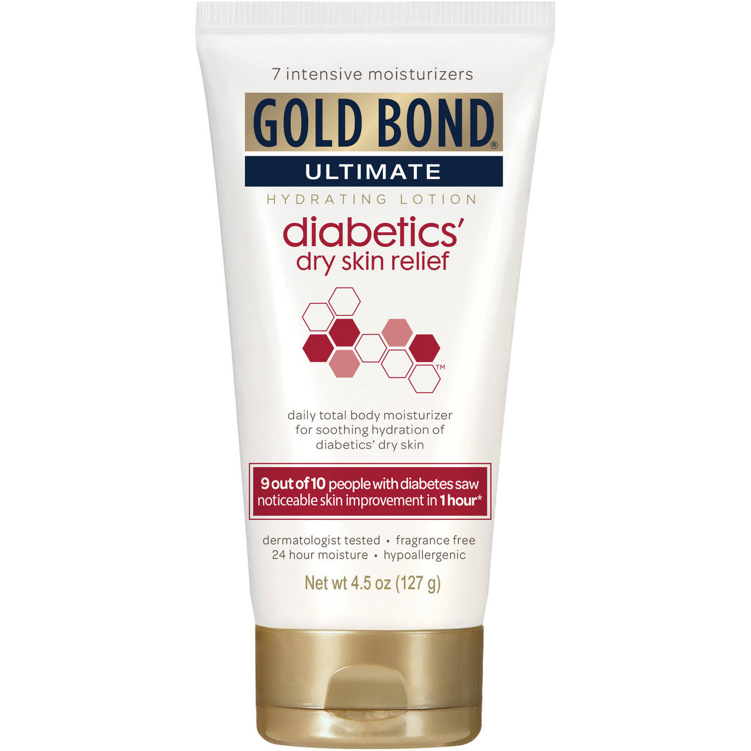 Gold Bond Ultimate Diabetics' Dry Skin Relief Hydrating Lotion, 4.5 oz