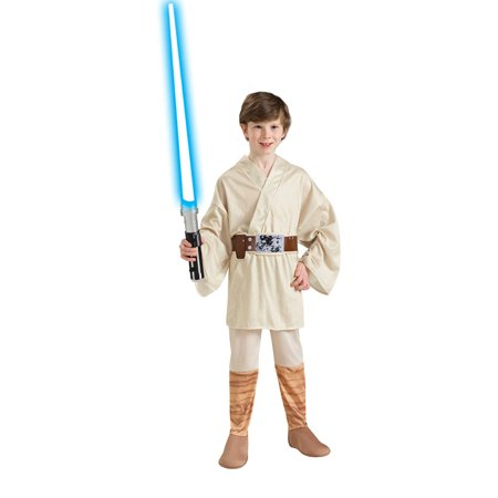 Star Wars Luke Skywalker Child Halloween Costume, Large (10-12)