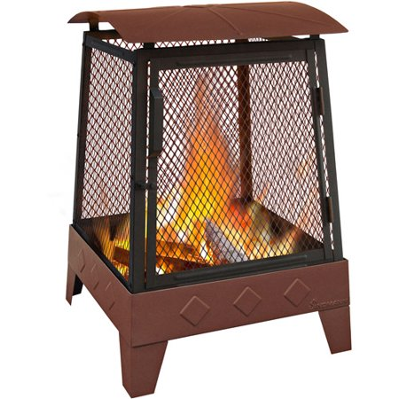 Landmann Haywood Outdoor Fireplace, Georgia Clay