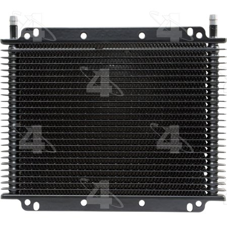 Hayden Automotive 698 Rapid-Cool Transmission Oil Cooler with Thermal Bypass ()