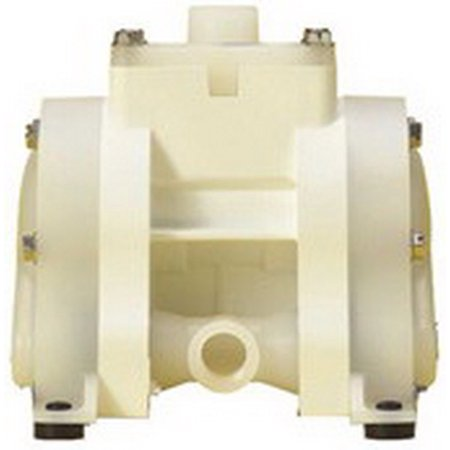 National Spencer Air-Operated Polypropylene Double Diaphragm Pump 3/8