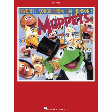 Hal Leonard Favorite Songs From Jim Henson's Muppets For Easy - Muppet Halloween Songs