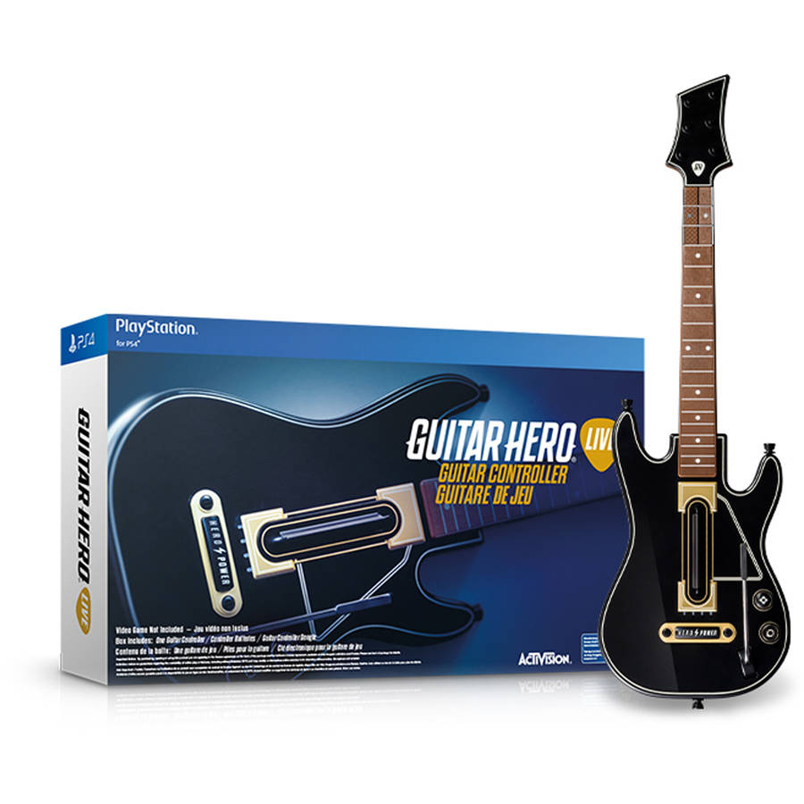 Guitar Hero Live (Guitar Only) (PlayStation 4)