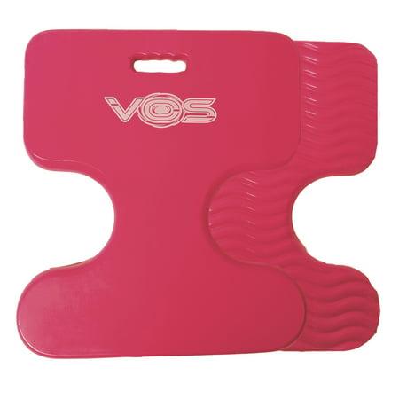 Vos Oasis Premium Water Saddle Floating Pool Toys Lake Summer Water Float Saddle 2 Pack (Flamingo Pink)