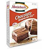 Kosher Brownie - Manischewitz Chocolate Brownie Mix With Fudge Frosting Kosher For Passover 12 oz. Pack of 1.