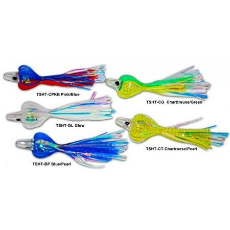 Tsunami TSHT-CT Holographic Teaser. Pack of 3. Chartreuse Pearl (Halloween 3 Teaser Trailer)