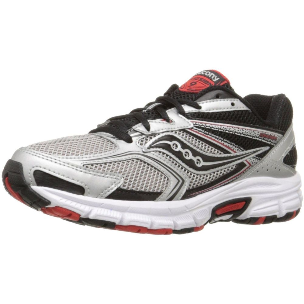 Cohesion 9 Running Shoes, Silver/Black