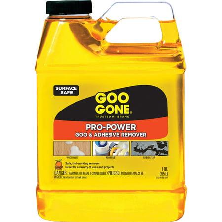 Goo Gone Pro-Power Cleaner, Citrus Scent, 1 qt Bottle, 6/Carton -WMN2112CT