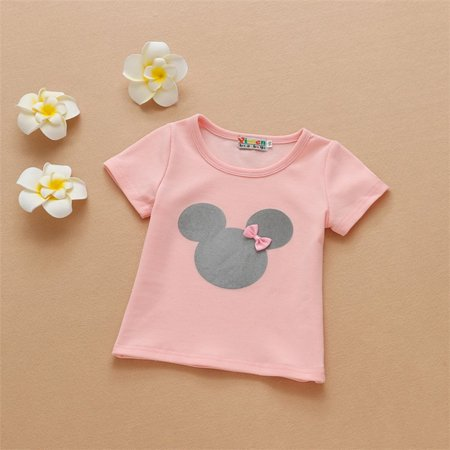 Summer New Cotton Girl Short Sleeved T Shirt Korean Short Sleeved Baby Shirt Fashion Boys Girls Baby Shirt Walmart Canada