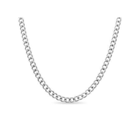 316L Stainless Steel 6mm Curb Chain 20 inches 316l Steel Pendant Chain