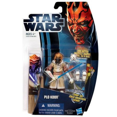 Star Wars: Clone Wars 2012 Animated Series 3.75 inch Plo Koon Action Figure, Star Wars: Clone Wars 2012 Animated Series 3.75 inch Plo Koon Action Figure By - Clone Wars Plo Koon