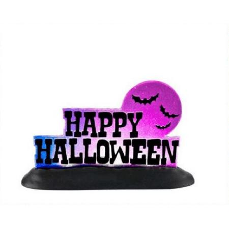 Department 56 Halloween Village Happy Halloween Sign 4025407](Happy Halloween In Italian)