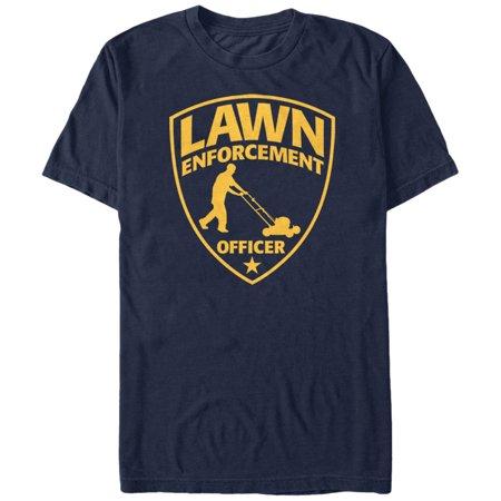 Men's Lawn Enforcement Officer T-Shirt
