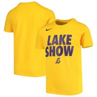 67ea759e Product Image Los Angeles Lakers Nike Youth Team Attitude Performance  Cotton T-Shirt - Gold