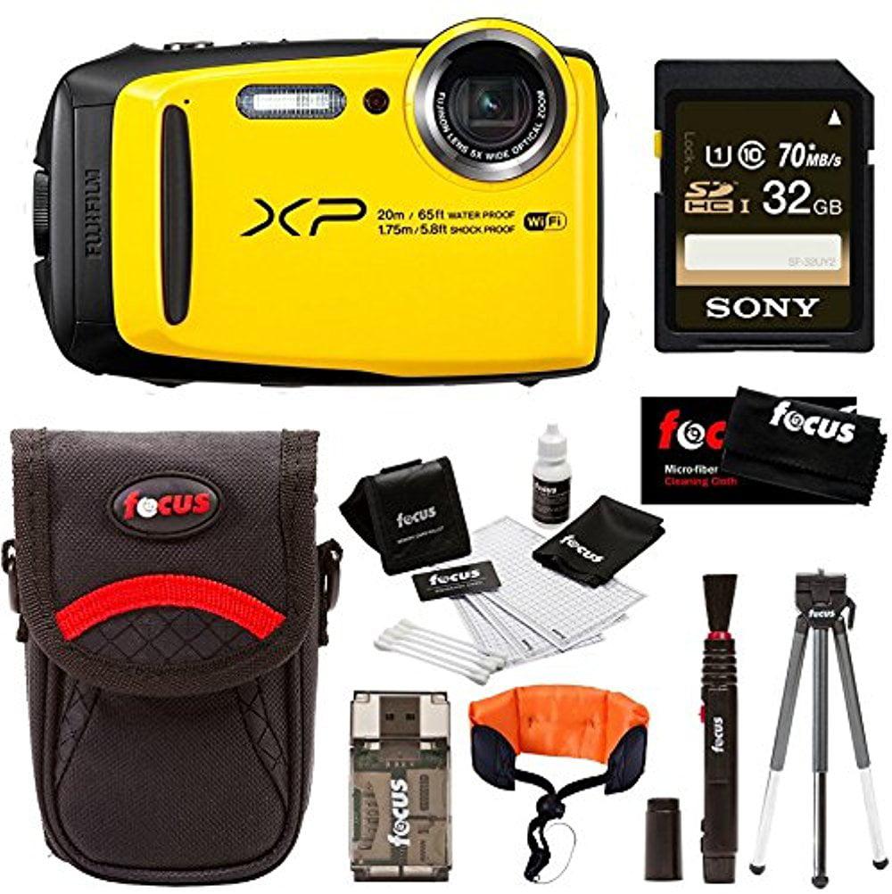 Fuji XP120 Digital Camera & 32GB Memory Card Deluxe Bundle