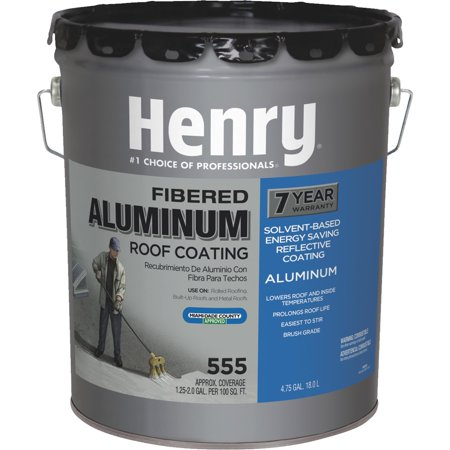 Henry Aluminum Roof Coating