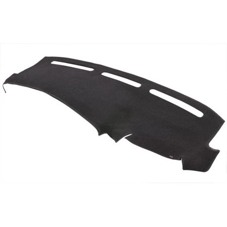 Covercraft 0886-00-25 Dash Board Cover Original DashMat (R) Black; Soft Foss Fibre Carpet; All Vents and Sensor Openings Are Pre-Cut - image 1 de 1