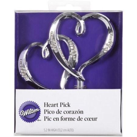 Wilton Double Hearts Cake Picks, 1 Ct