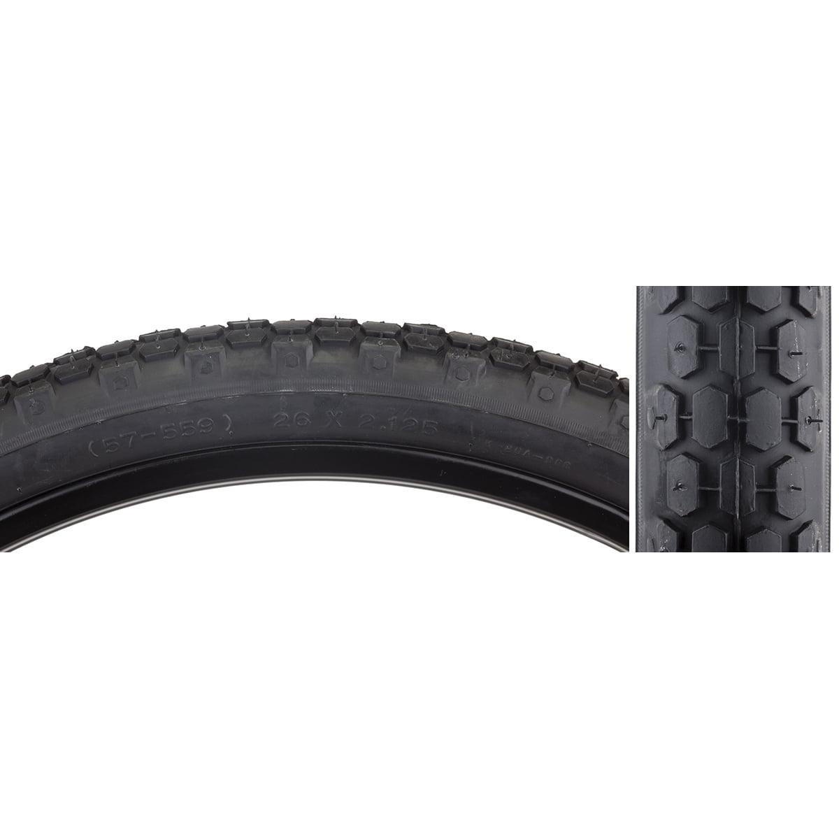 Sunlite Tire 26X2.125 Black/Black Cruiser K80