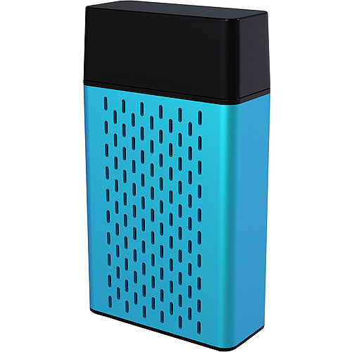 Hype Aluminum Bluetooth Stereo Speaker, Assorted Colors