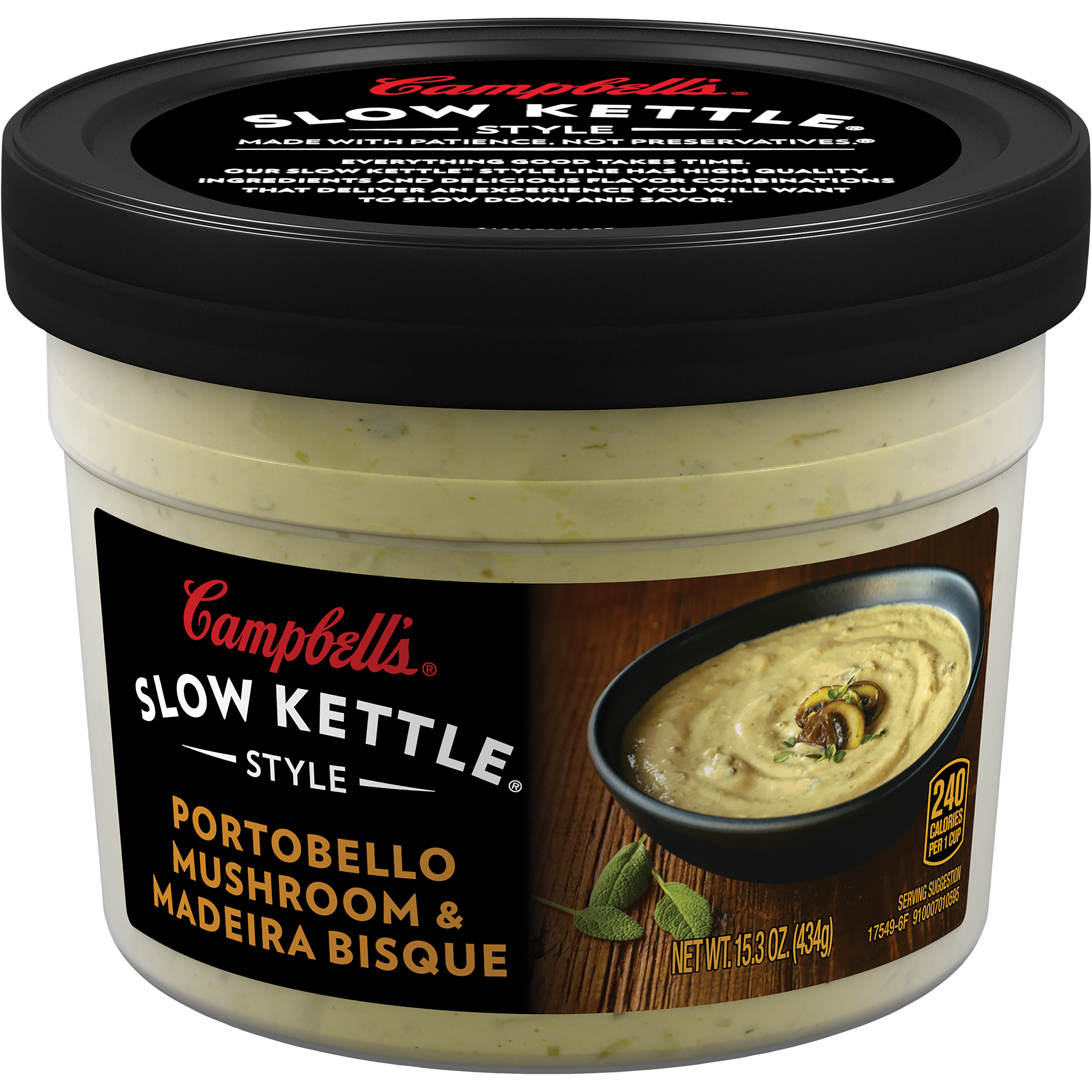 Campbell's Slow Kettle Style Portobello Mushroom & Madeira Bisque 15.3oz