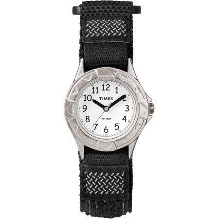 Boys My First Outdoor Black Watch, Fast Wrap Strap