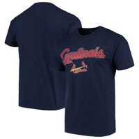 Men's Majestic Navy St. Louis Cardinals Bigger Series Sweep T-Shirt