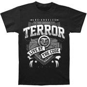Terror Men's  Banner T-shirt Black