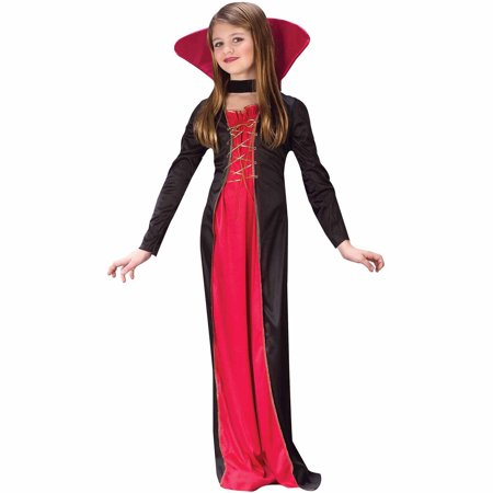 Victorian Vampiress Child Halloween Costume - Vampiress Costume Ideas