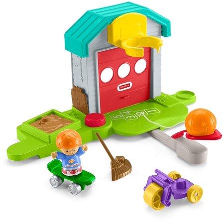 Little People Car Garage (Little People Big Helpers Garage )