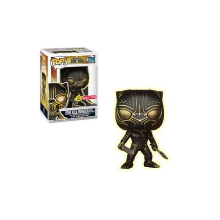 FunKo POP! Marvel Black Panther Erik Killmonger Glow In The Dark Panther - Ultimate Black Panther