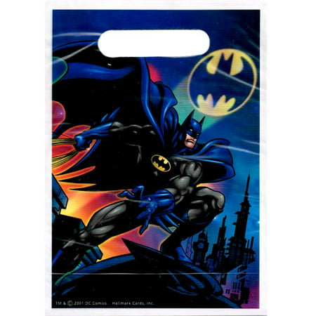 Batman Vintage 2001 Favor Bags (8ct)](Batman Party Bags)