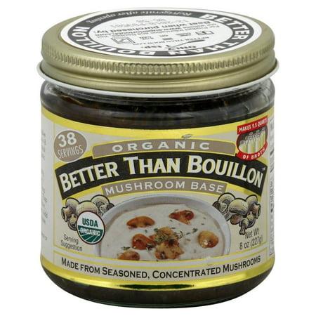 8 Oz Mushroom - Better Than Bouillon Organic Mushroom Base, 8 oz