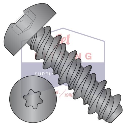 "8-18 x 1"" High Low Style Thread Forming Screws | Six-Lobe (Torx) | Pan Head | Steel |... by"