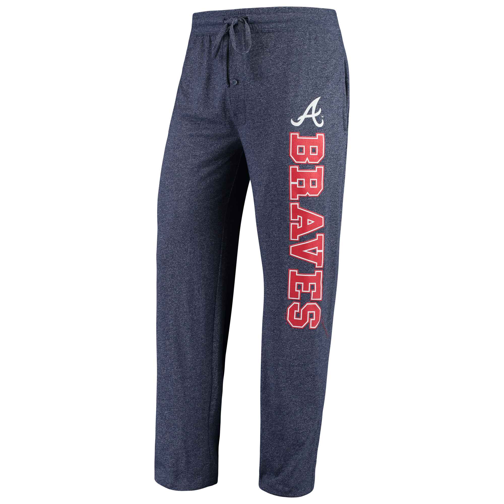 Atlanta Braves Concepts Sport Quest Pants - Heathered Navy
