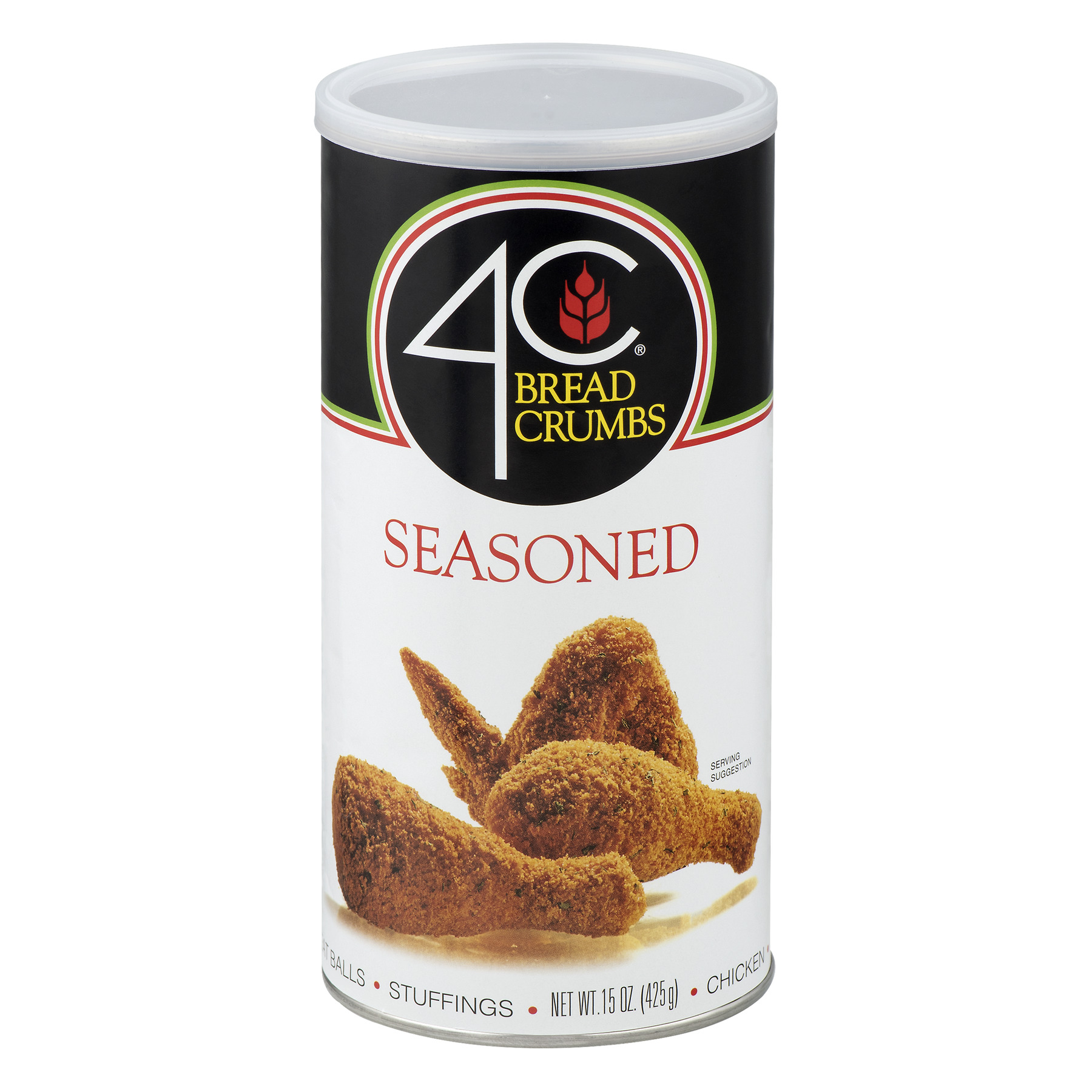 Image of 4C Breadcrumbs Seasoned, 15.0 OZ
