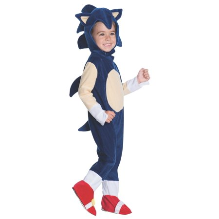 Sonic Romper Toddler Halloween Costume, 3T-4T