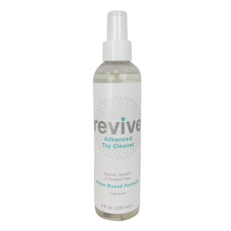 Revivex Spray - Antibacterial Toy Cleaner, 8 Ounce Spray Bottle (Revive Fresh)
