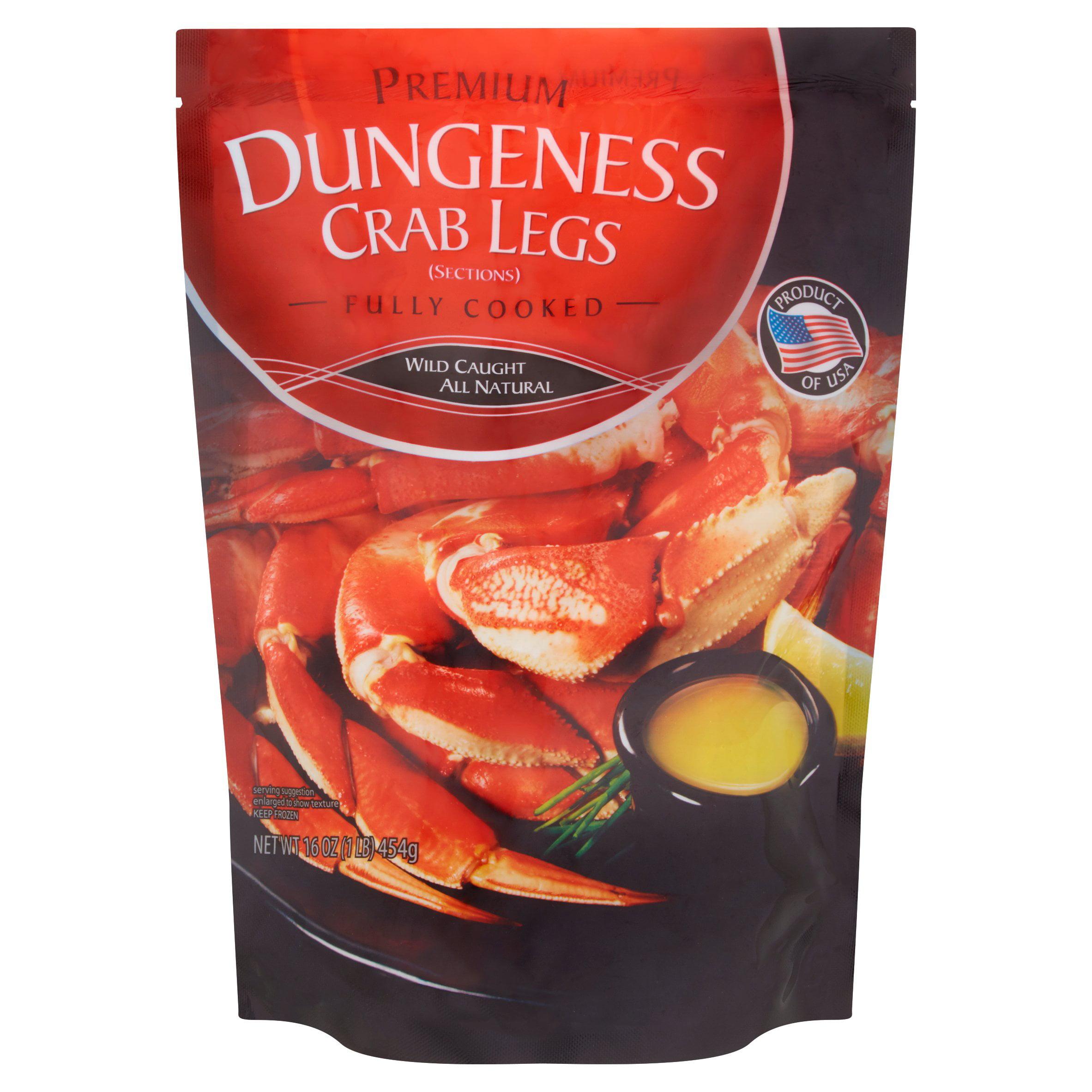 Premium Dungeness Crab Legs, 16 oz