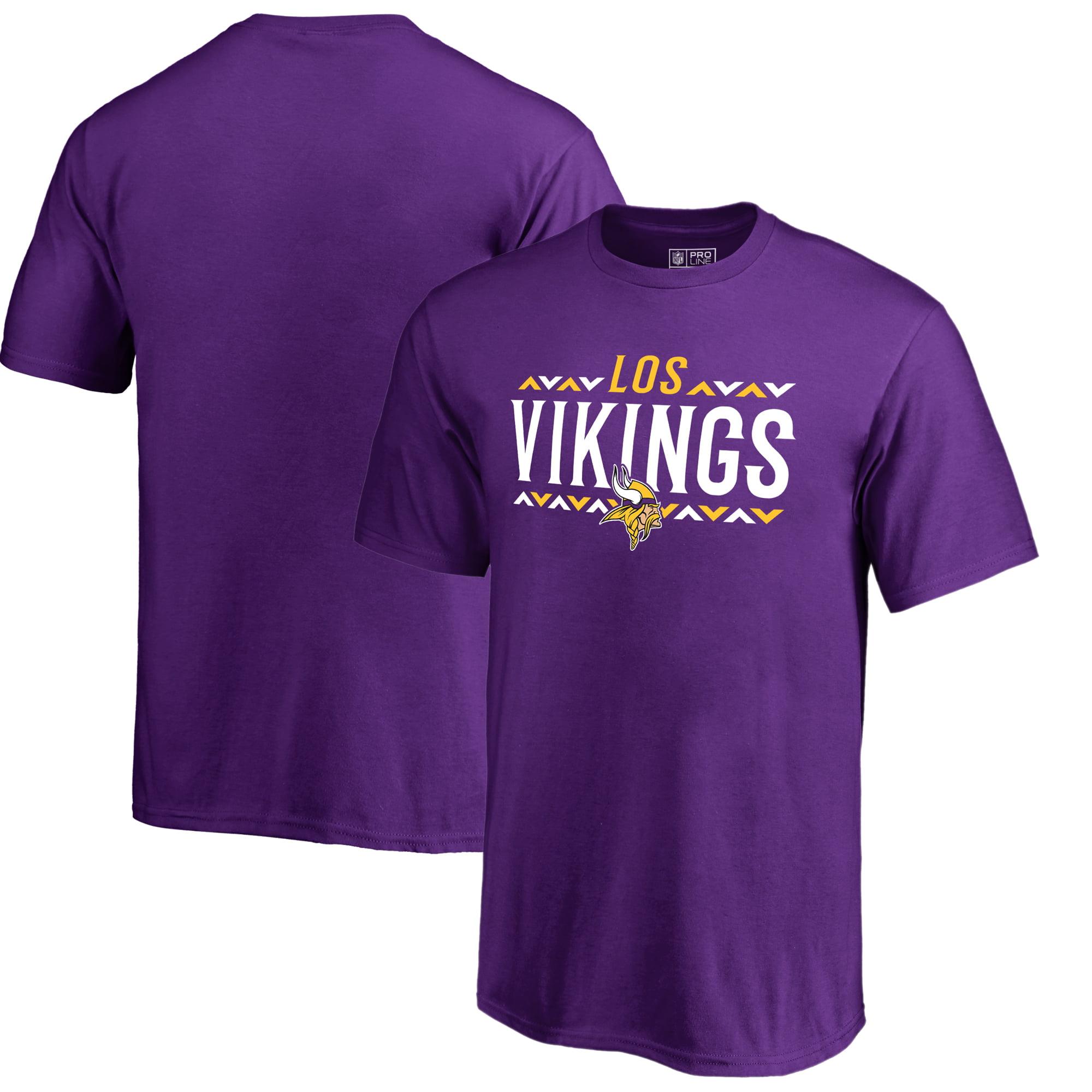 Minnesota Vikings NFL Pro Line by Fanatics Branded Youth Arriba T-Shirt - Purple