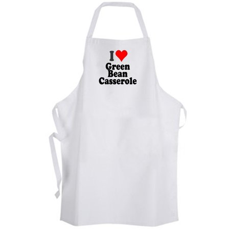 Aprons365 - I Love Green Bean Casserole – Apron – Chef Cook Kitchen Food