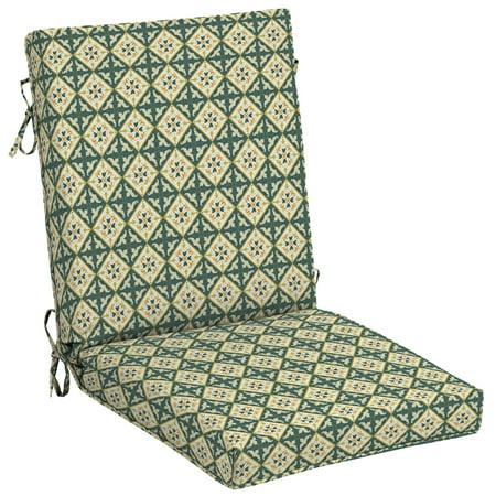 Arden + Artisans Khalid Moroccan Tile Outdoor 44 x 21 in. High Back Chair