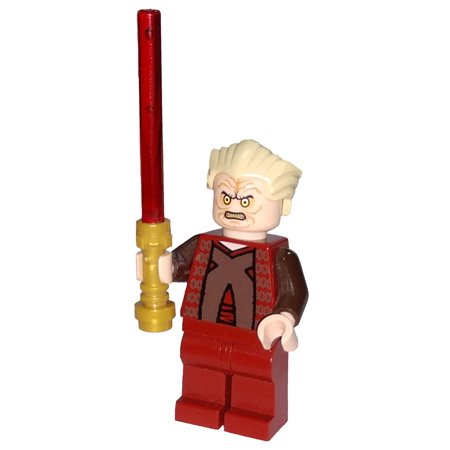 LEGO Star Wars Episode 3 Chancellor Palpatine Minifigure [Dark Red Outfit] [No Packaging] ()