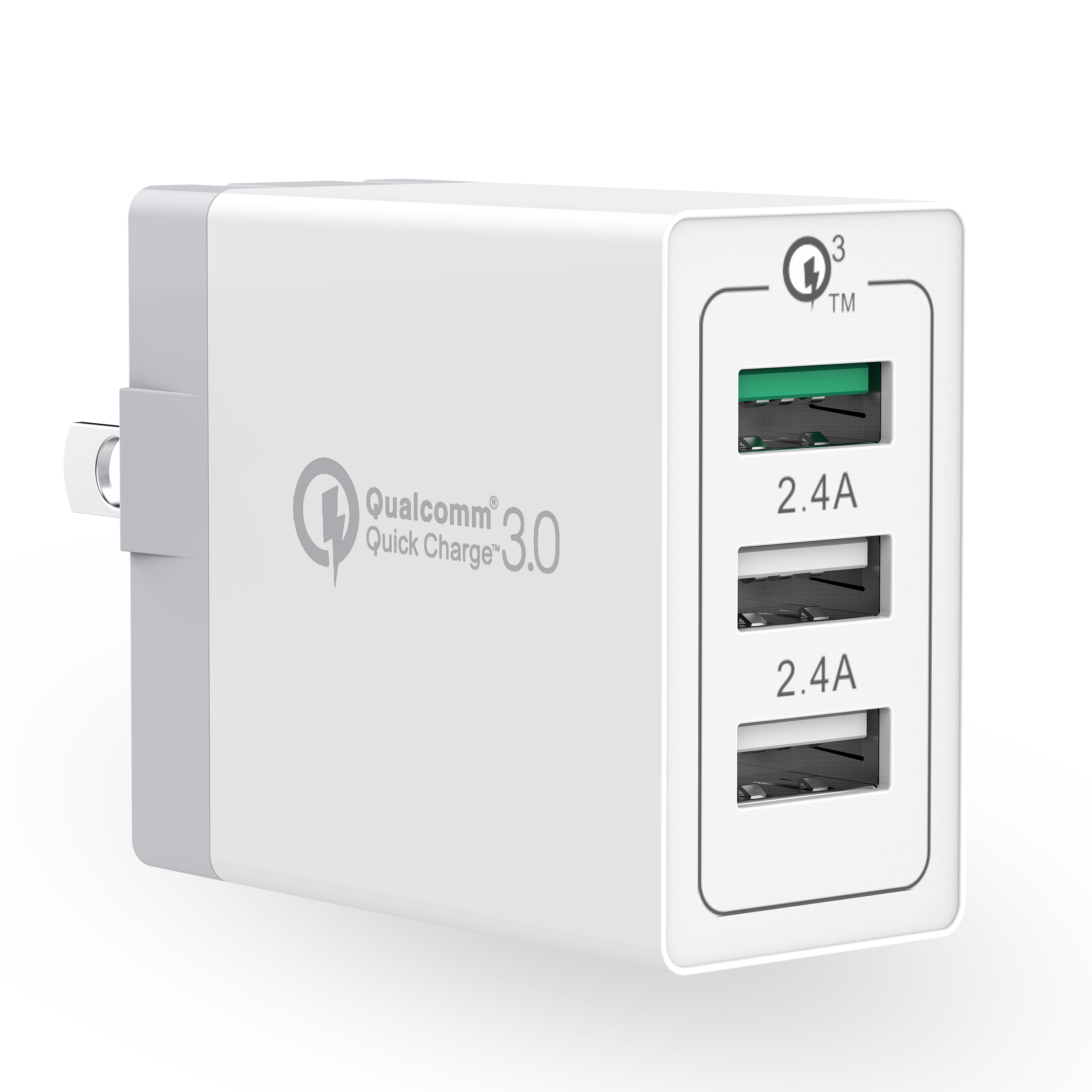 Stalion Speedy Quick Charge USB 3.0 Turbo Adaptive Rapid Fast Wall Charger (Qualcomm Certified)